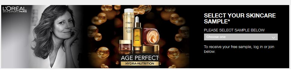 Age Perfect Hydra-Nutrition Sample