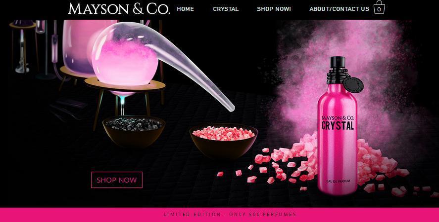 Mayson & Co perfume sample