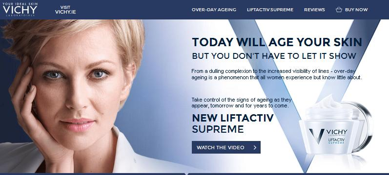 free sample of Vichy Liftactiv cream