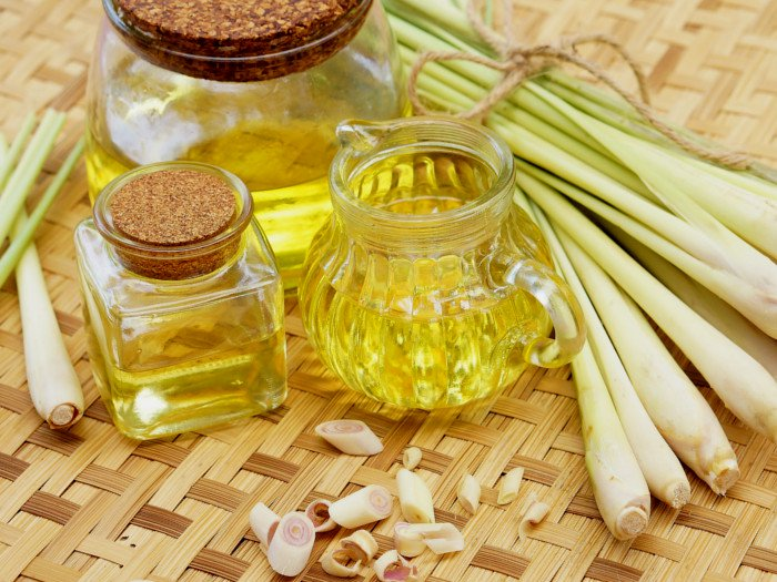 Lemongrass oil against cellulite